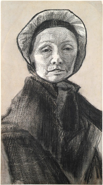 Vincent Van Gogh - La Femme au bonnet