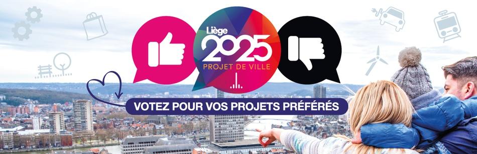 Liège 2025    votes