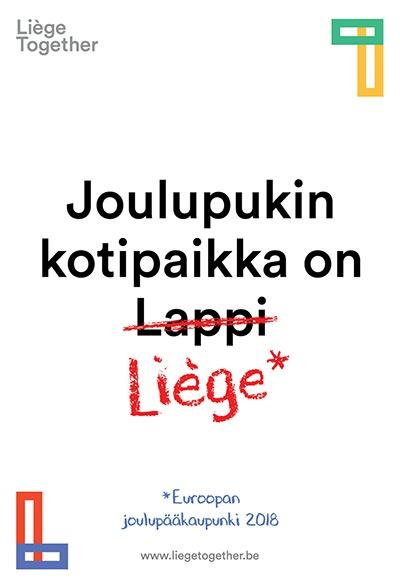 Liegetogether Noël 2018 lappi