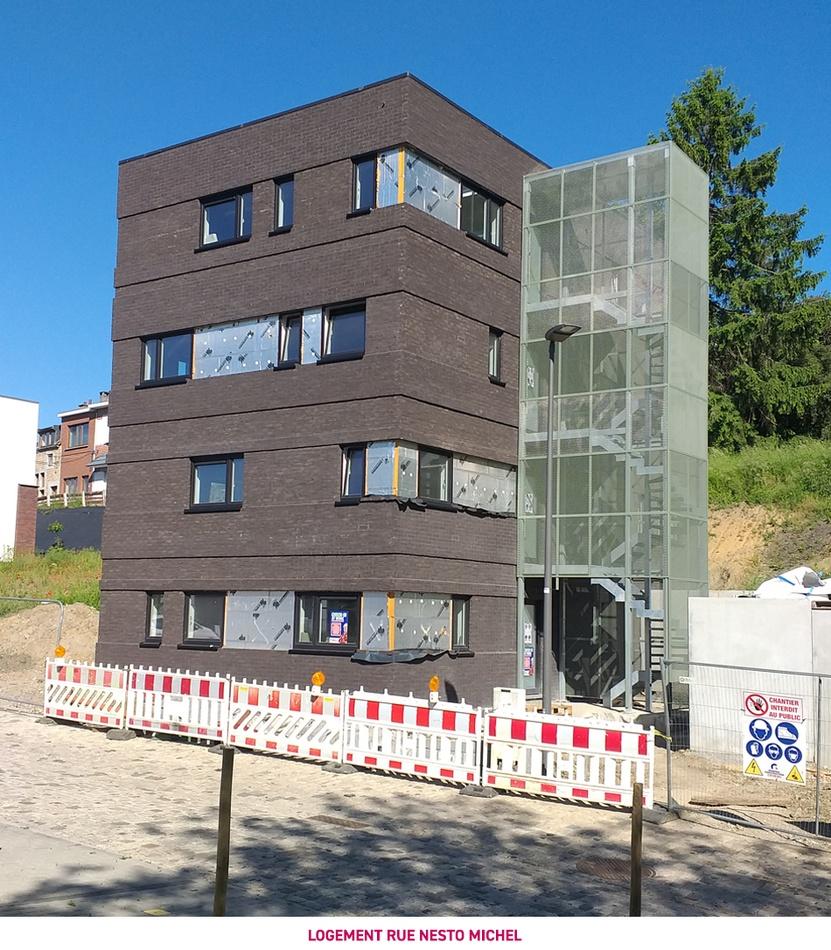 Des logements sociaux rue Nesto Michel