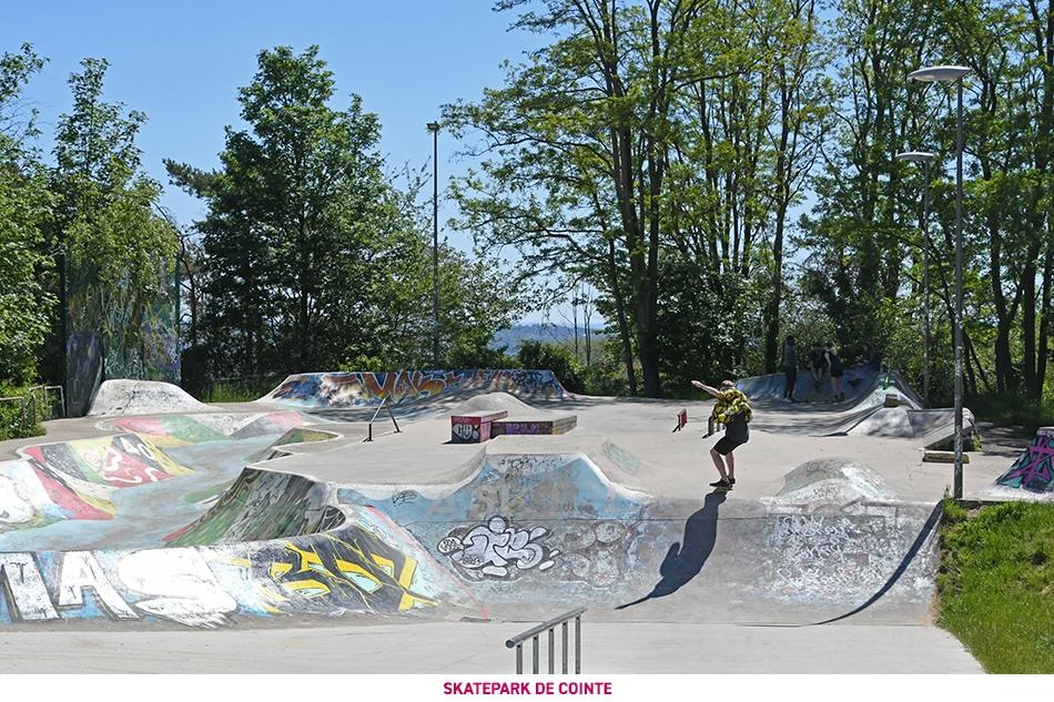 Le skatepark de Cointe