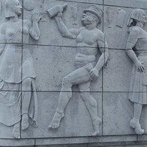 Bas-relief Pont des Arches