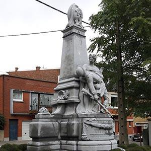 Monument 14-18, rue de la Haminde à Grivegnée