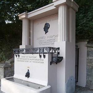 Fontaine commémorative Mathieu Bodson