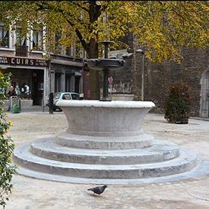 Fontaine place St-Denis