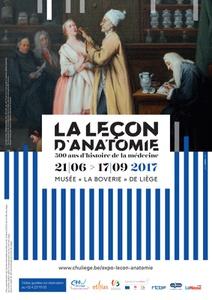 21.06.2017 > 17.09.2017: La Leçon d'Anatomie, 500 ans d'histoire de la médecine