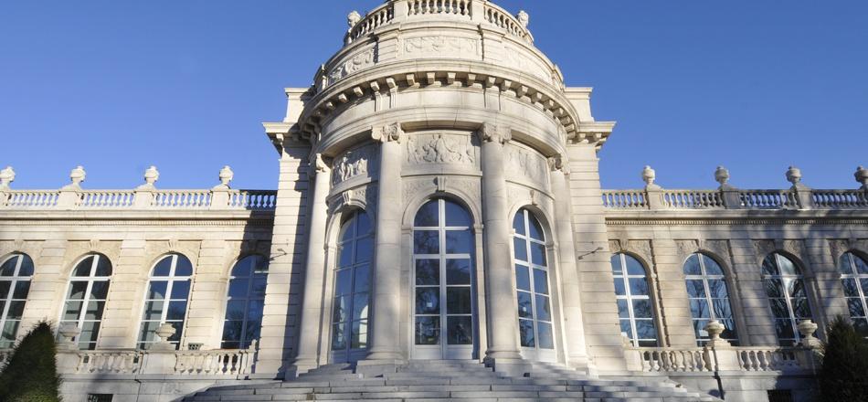 Le musée de La Boverie - Entrée principale