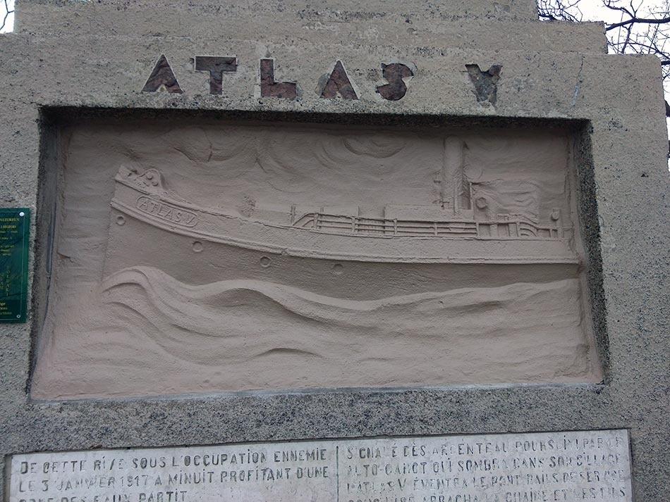 Mémorial en hommage à l'Atlas V: après - ©Ville de Liège