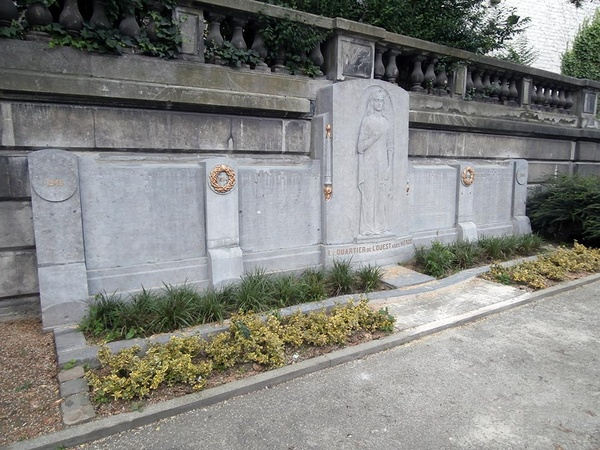 Monument « le quartier de l'Ouest à ses héros » - ©Ville de Liège