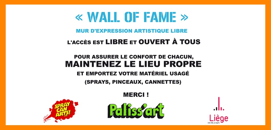 Charte Wall of fame