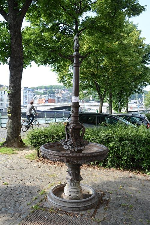 Fontaine Montefiore - De Gaulle © Ville de Liège - Urbanisme - J-P ERS
