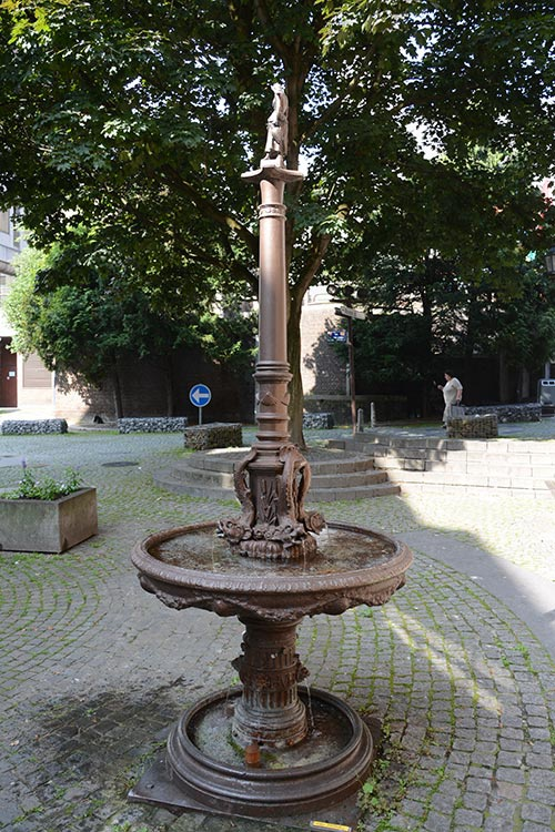 Fontaine Montefiore - Foulon © Ville de Liège - Urbanisme - J-P ERS