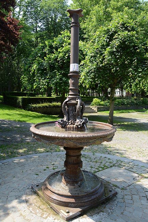 Fontaine Montefiore - Peralta © Ville de Liège - Urbanisme - J-P ERS