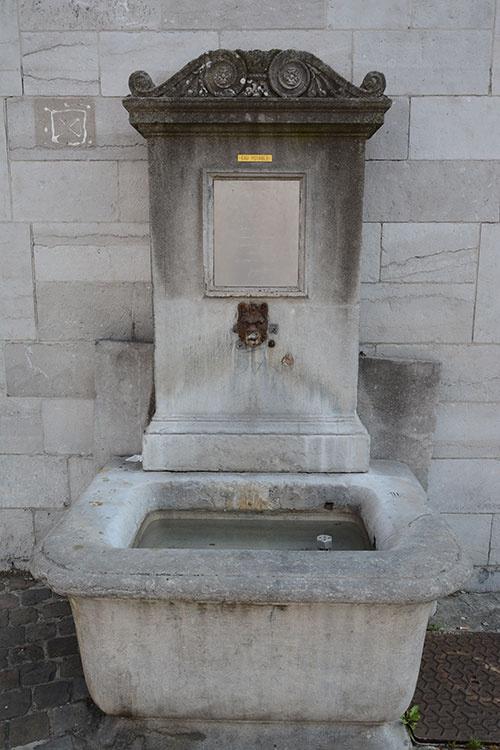 Fontaine - Saint-Laurent © Ville de Liège - Urbanisme - J-P ERS