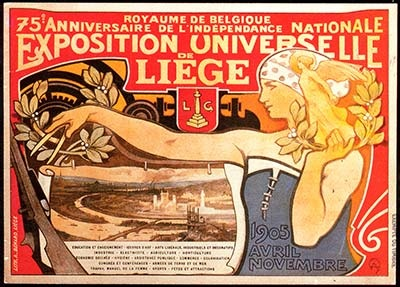 Affiche de l'Exposition internationale de 1905