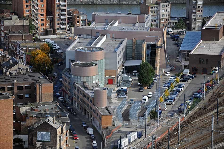 Services communaux rue de Namur