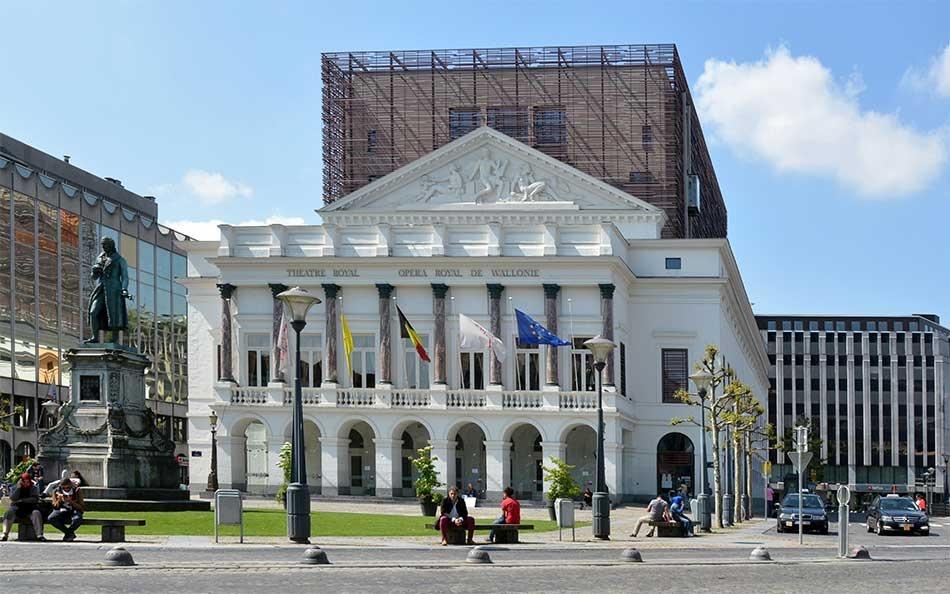 Opéra royal de Wallonie - J-P ERS - Urbanisme