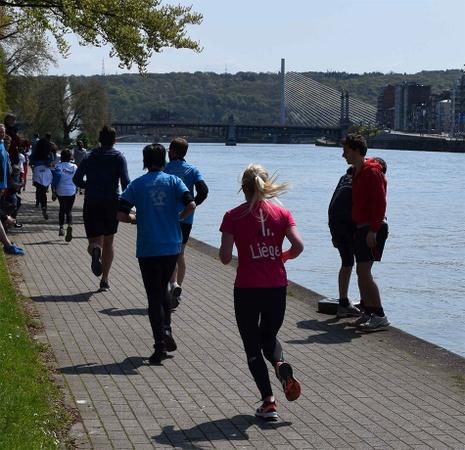Focus sur une action prioritaire de Liège 2025 : créer un ensemble d'itinéraires urbains de course à pied « Liège city run » et une boucle sécurisée