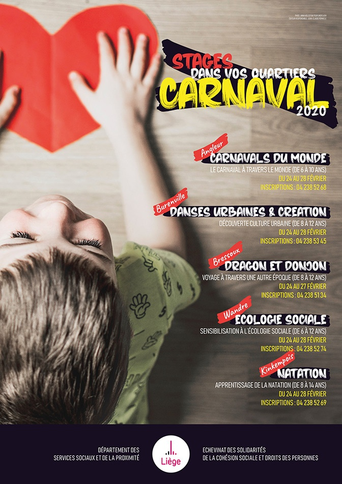 Stages carnaval 2020
