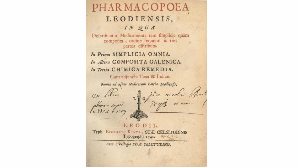 Pharmacopoea Leodiensis
