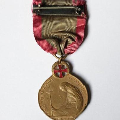 Revers Médaille Elisabeth