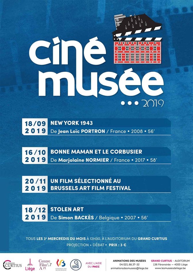 affiche programme cinemusee 2019