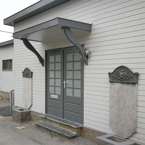Mairie de quartier de Glain : entrée