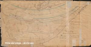 Plan approuvé le 14 janvier 1879. Lotissement de l'Ile du Commerce – Création du quartier des Terrasses.