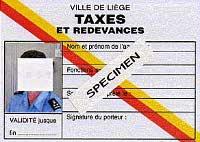carte taxes redevances