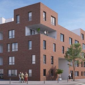 Appartements neufs à louer sur la plaine de Droixhe