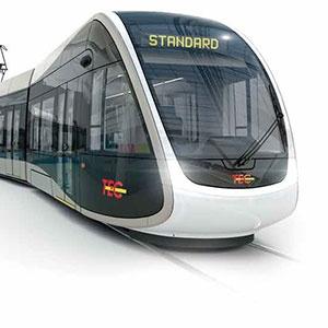 Découvrez les premiers essais de la première rame du tram de Liège !