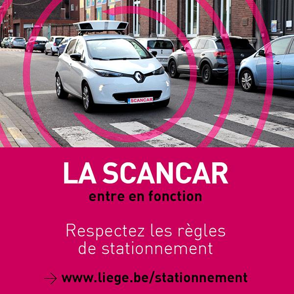Les scancar contrôlent le stationnement