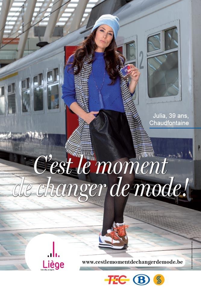 C'est le moment de changer de mode pour le train !