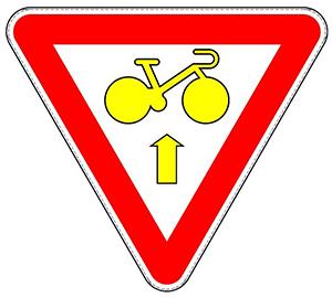 Signalisation B23