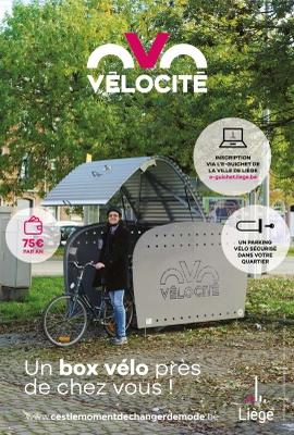 Vélocité - Box vélos sécurisés