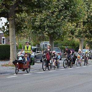 Lancement du projet-pilote « Classe Vélocité » dans le cadre de la mobilité scolaire