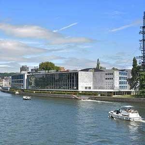 Le Collège communal dit oui à la rénovation du parking de l'Esplanade de l'Europe et des abords immédiats du Palais des Congrès