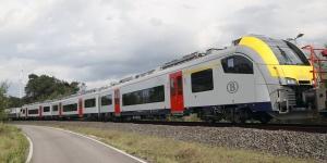 Train S à Liège