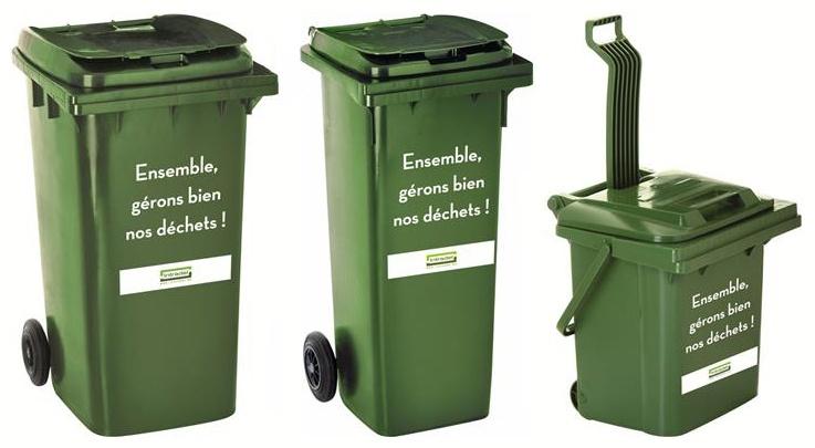 Conteneurs verts 40 l - 140 l - 240 l