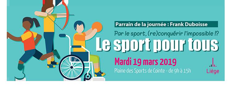 Le sport pour tous - semaine de l'accessibilité
