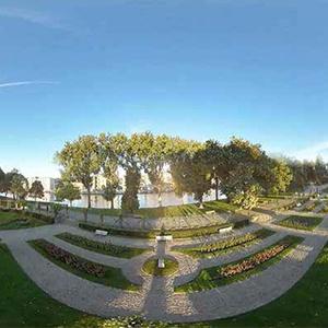Liège vue du ciel, et en 360°