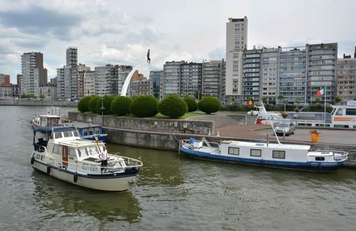 Voies navigables en Wallonie