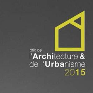 Lauréats du Prix de l'Urbanisme 2015