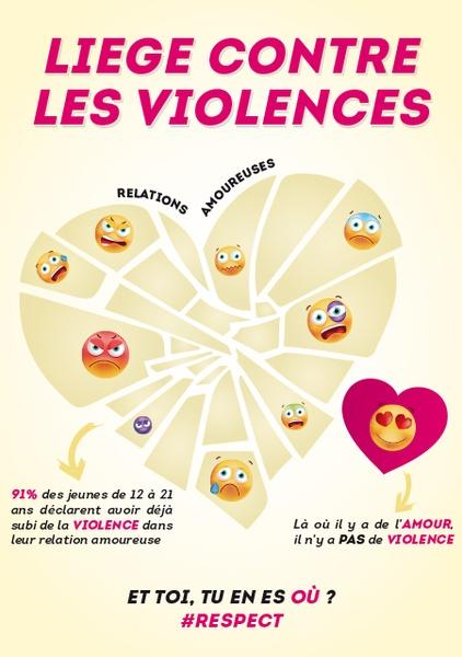 LiegeContrelesViolences flyer