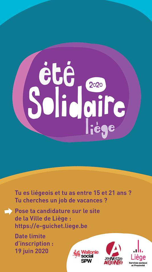 Eté solidaire - édition 2020