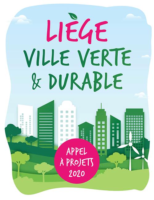 Appel à projets 2020 - Liège Ville verte et durable
