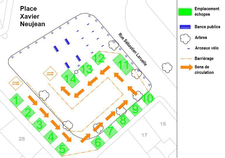 Court-Circuit - plan de circulation