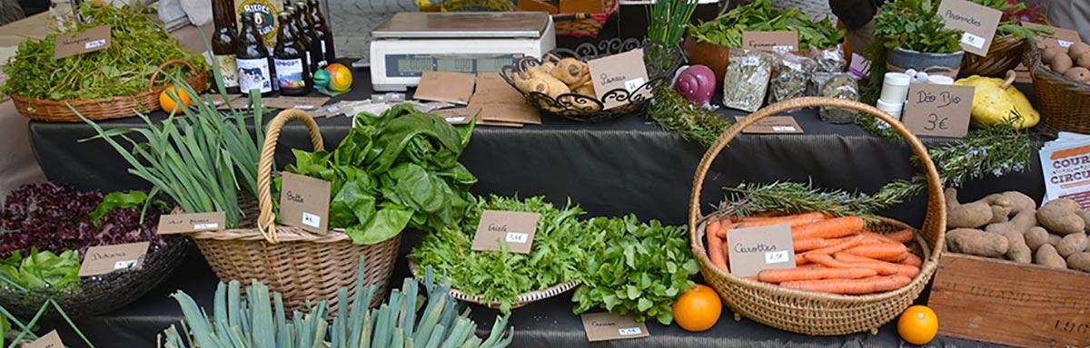 Court-Circuit : le marché des producteurs locaux