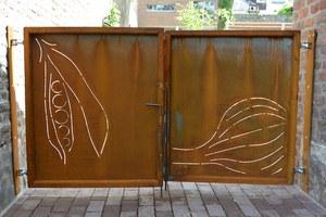 Potager Ste Agathe portail © Urbanisme Ville de Liege  JP