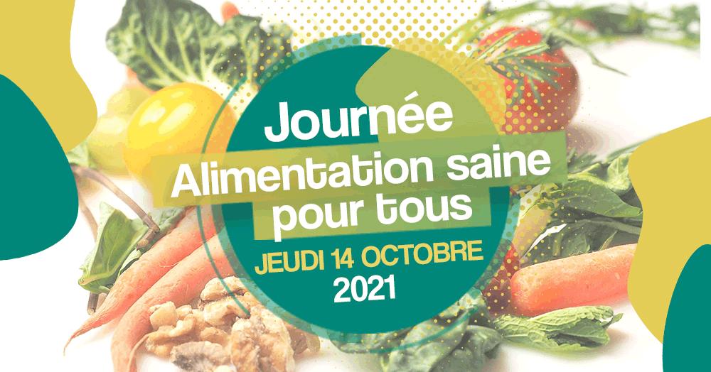Journée Alimentation Saine pour Tous 2021